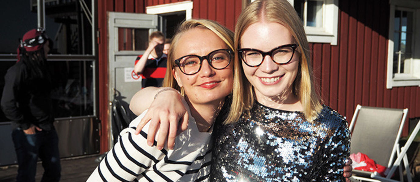 ITP alumna Riikka Ylitalo from Tax Administration (Verohallinto) and ITP Project Coordinator Riikka Iivanainen met at an ITP Alumni Reunion Party in July 2017.