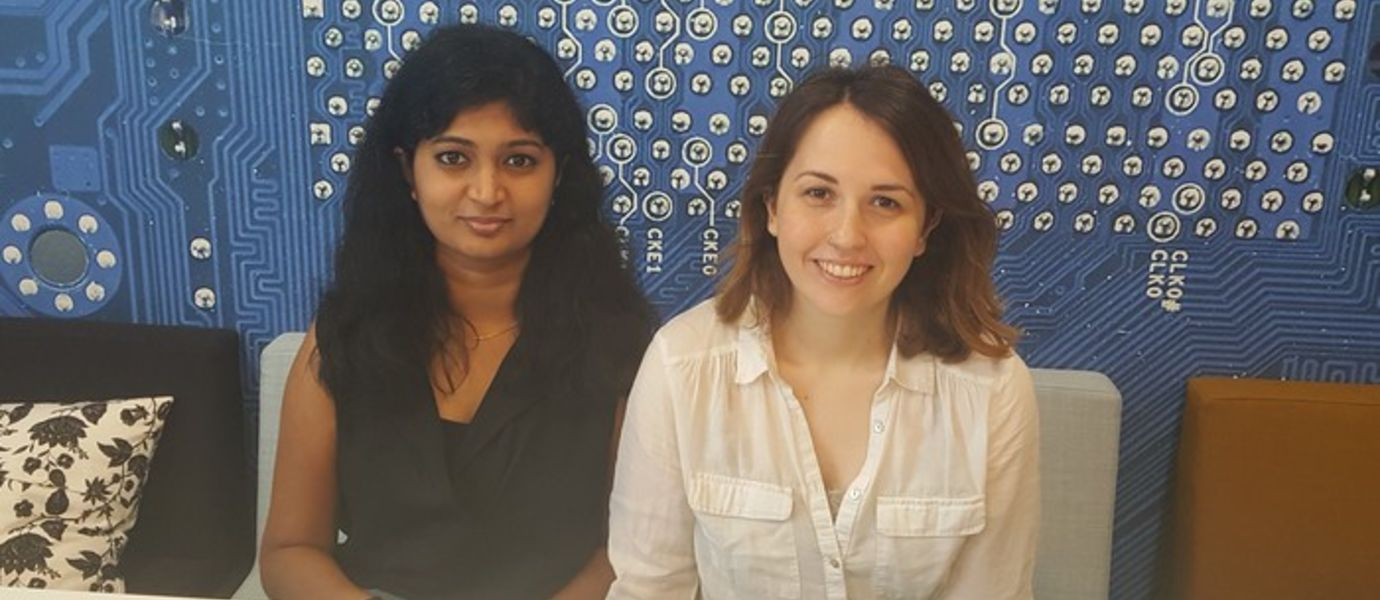 Master-level computer science students Nagadivya Balasubramaniam and Dicle Ayzit have been involved as summer interns in an interesting project, led by Aalto University researchers, developing a new cross-cultural education application for health care professionals.
