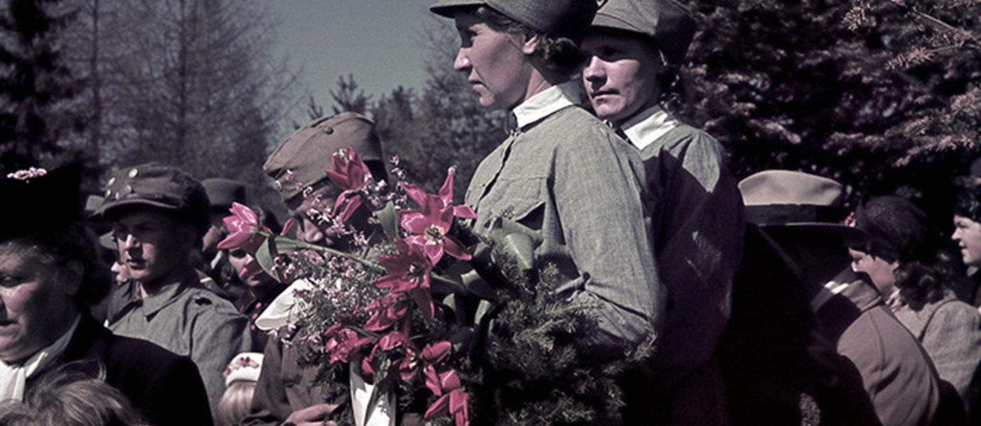 Events of the Memorial Day of the Fallen in Joensuu on 19 May, 1940. Photo: Defence Forces' Photographic Centre SA-photo archive.
