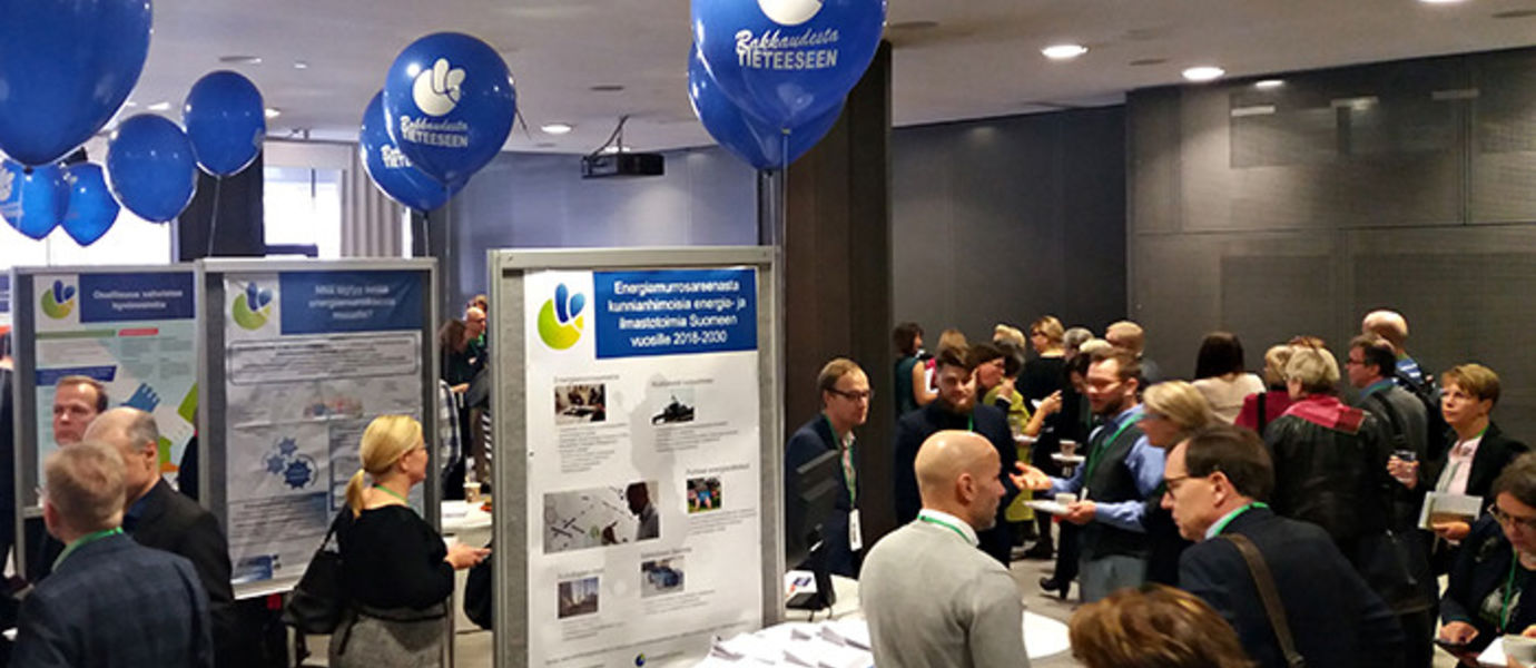 The Smart Energy Transition project was presented at the Academy of Finland's Rakkaudesta tieteeseen (For the Love of Science) event at the Finlandia Hall on 14 February 2018.