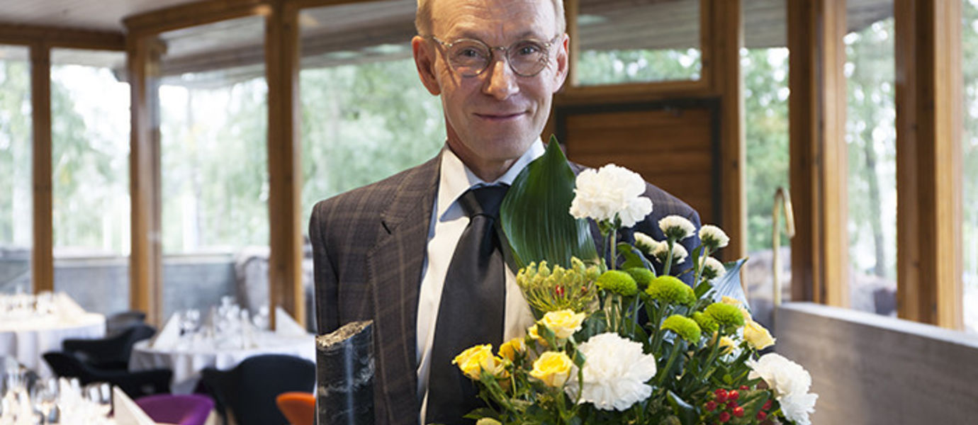 Professor Ahti Salo is the 10th Espoo Ambassador. The selection was announced at the annual Espoo Ambassador event held 0n 30 August at Aalto University's Dipoli.