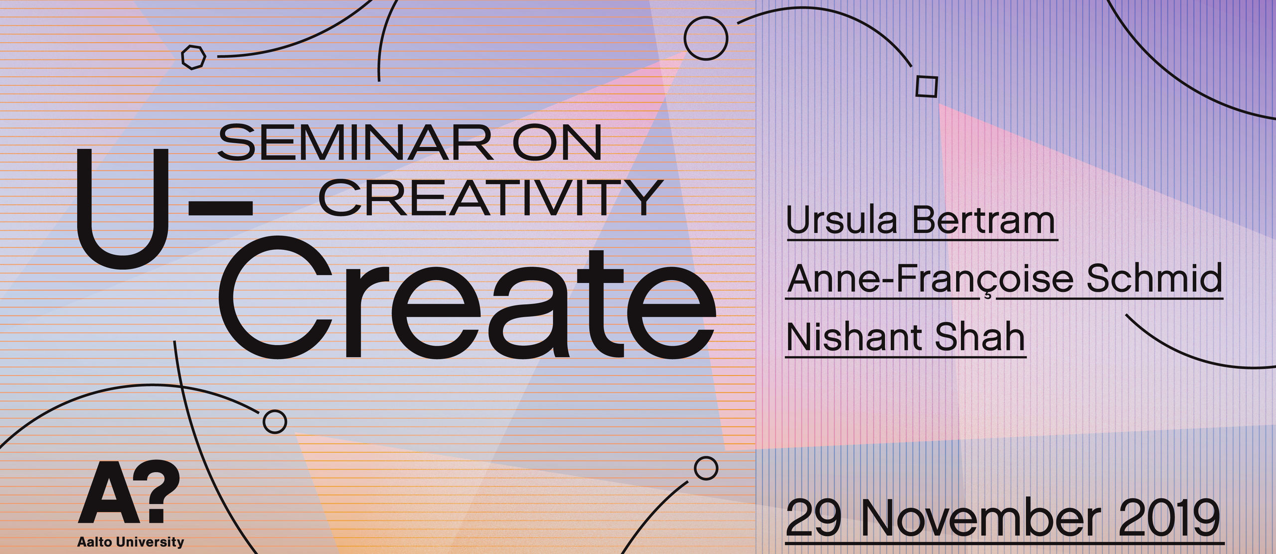 U Create Seminar on Creativity 2019