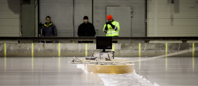 Activity at the Aalto Ice Tank