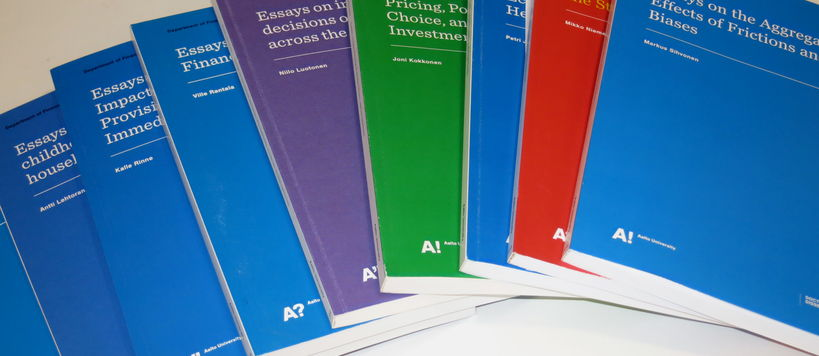 Latest Publications, Department of Finance
