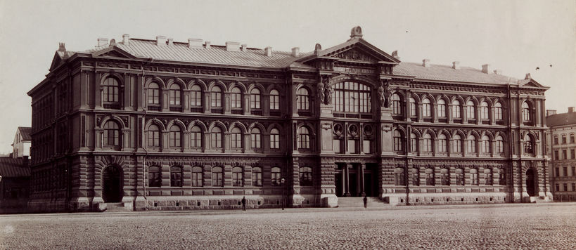 The Ateneum building, photo by Archive Collections, Finnish National Gallery