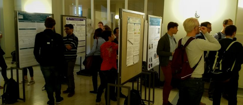 Poster session, photo by Jaakko Järvinen