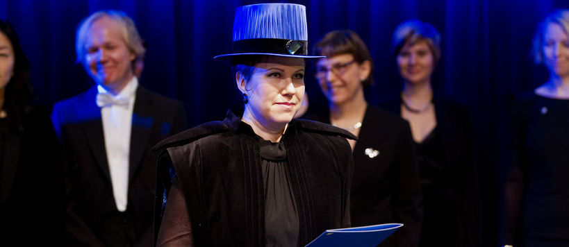 Ceremonial Conferment at Aalto University School of Arts, Design and Architecture in 2013