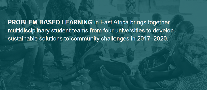 Problem-based learning East Africa project website