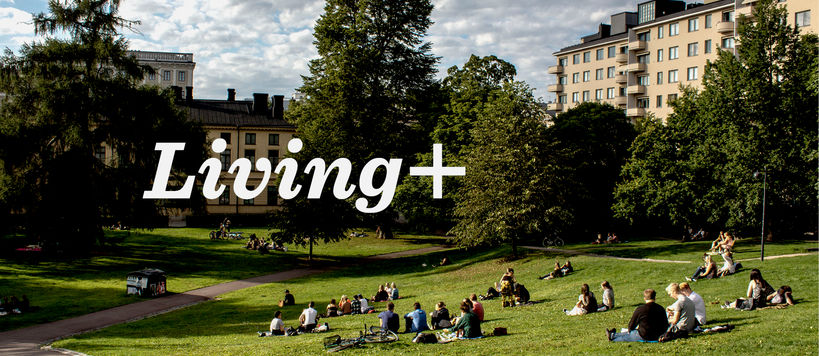 Aalto Living+ Platform banner image including the title Living+