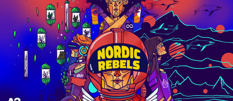 Nordic Rebels illustration by Parvati Pillai
