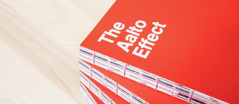 Aalto Effect book cover / Photo by Mikko Raskinen