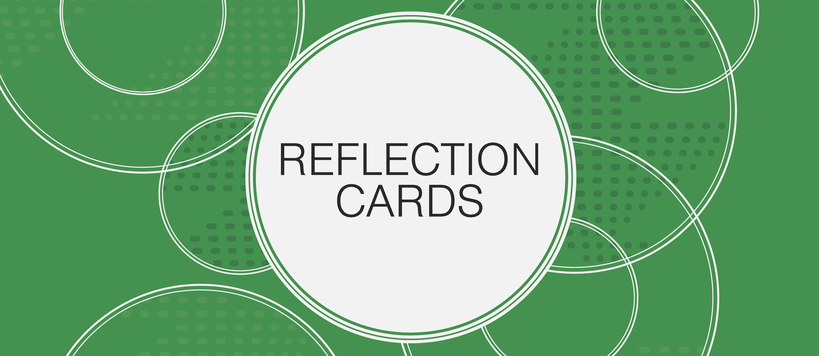 Reflection Cards Banner
