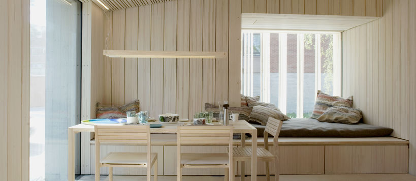 Luukku House was designed to have a low carbon footprint. Photo by Anne Kinnunen