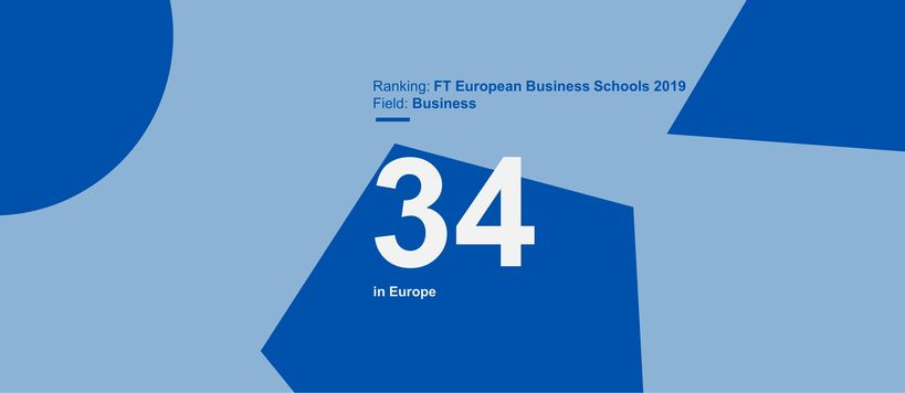 FT European business schools 2019 ranking