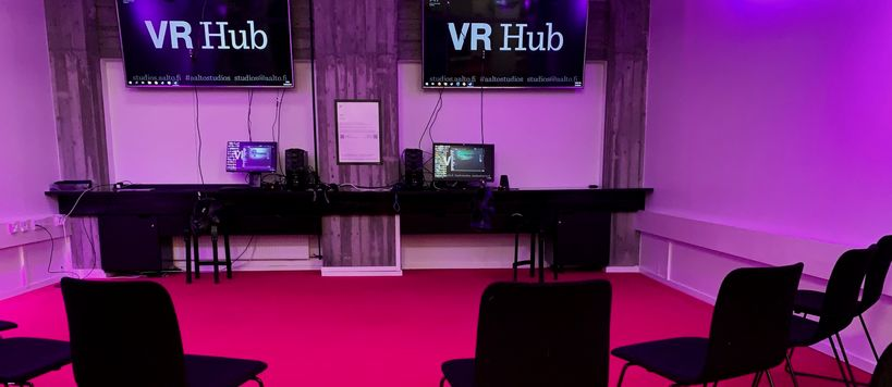 VR Hub facilities at Harald Herlin Learning Centre
