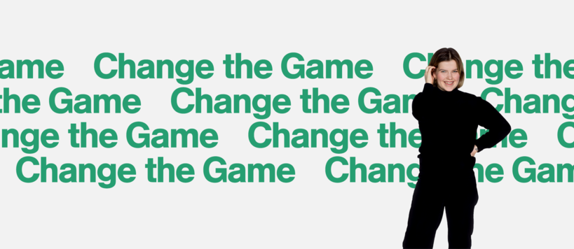Change the game text with image of student