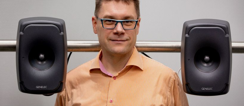 Professor Tapio Lokki / Aalto University / School of Electrical Engineering / Acoustics / Image: Patrik Strenström