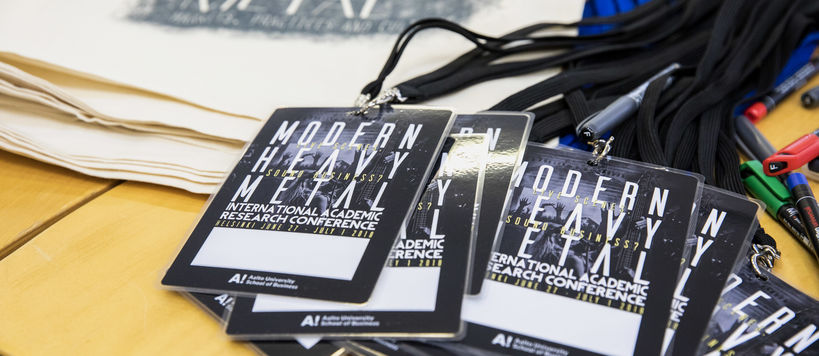 Moder Heavy Metal Conference attendee passes (2018)