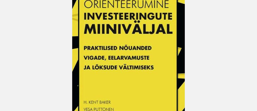 Vesa Puttonen's book published in Estonian.