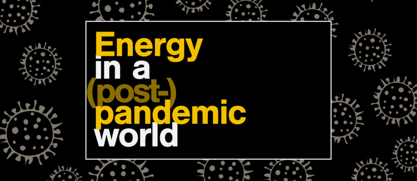 Energy in a post-pandemic world logo