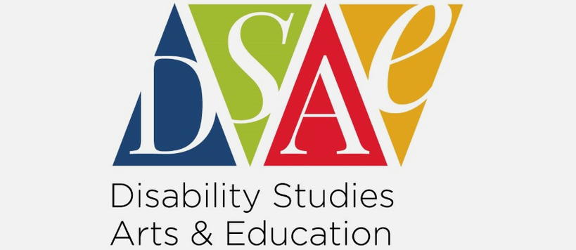 Image of DSAE Logo with the acronyms each represented by blue, green, red, and orange triangles