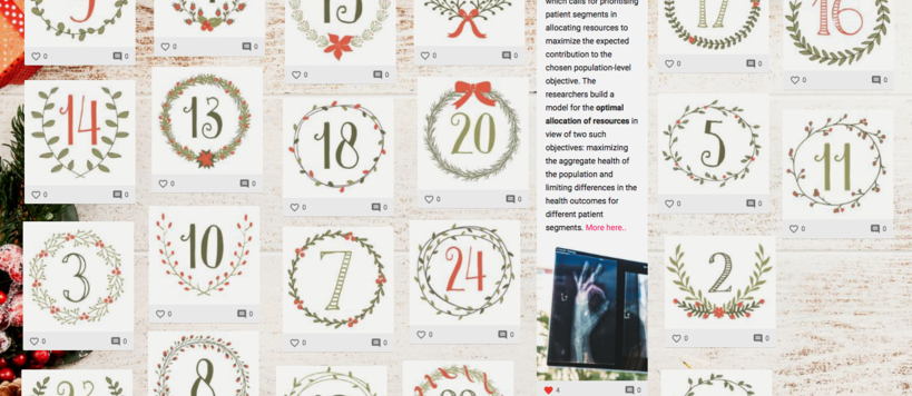 ISM Research Xmas Calendar