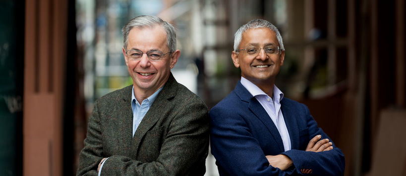 Shankar Balasubramanian and David Klenerman.