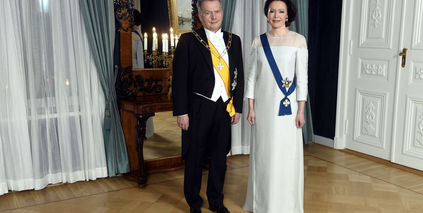 President Sauli Niinistö and Jenni Haukio at 2018 Finnish Independence Day reception. Photo: Vesa Moilanen/Lehtikuva