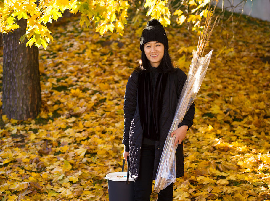 Aalto University, Otaniemi stories: Xiaoyu Ji, student of Design / Photographer: Sinikoski