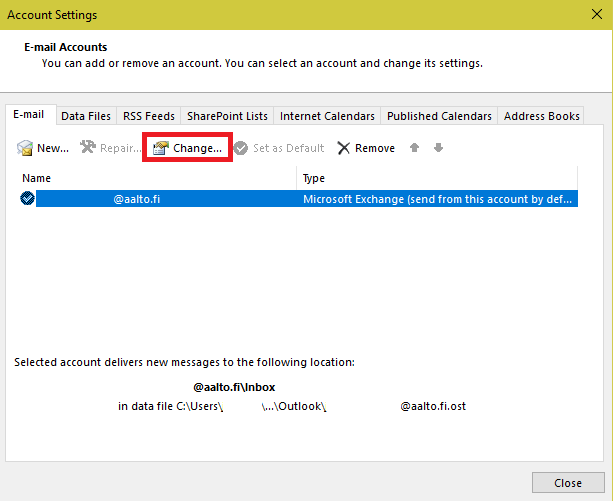 Resource mailbox in outlook2