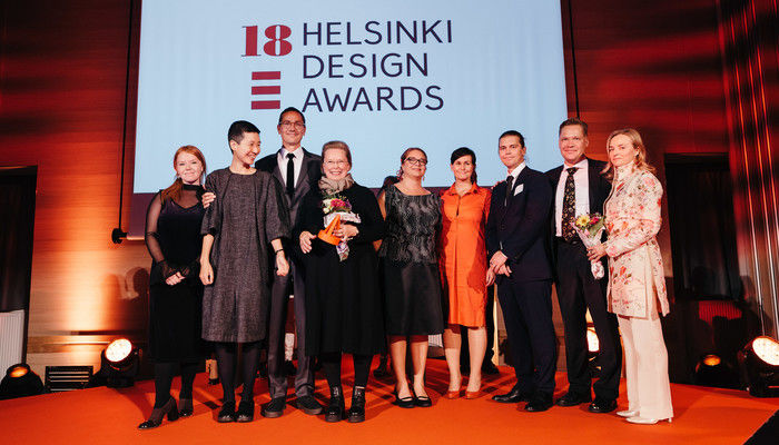 The Helsinki Design Awards 2018 winners. Photo: Joonas Brandt