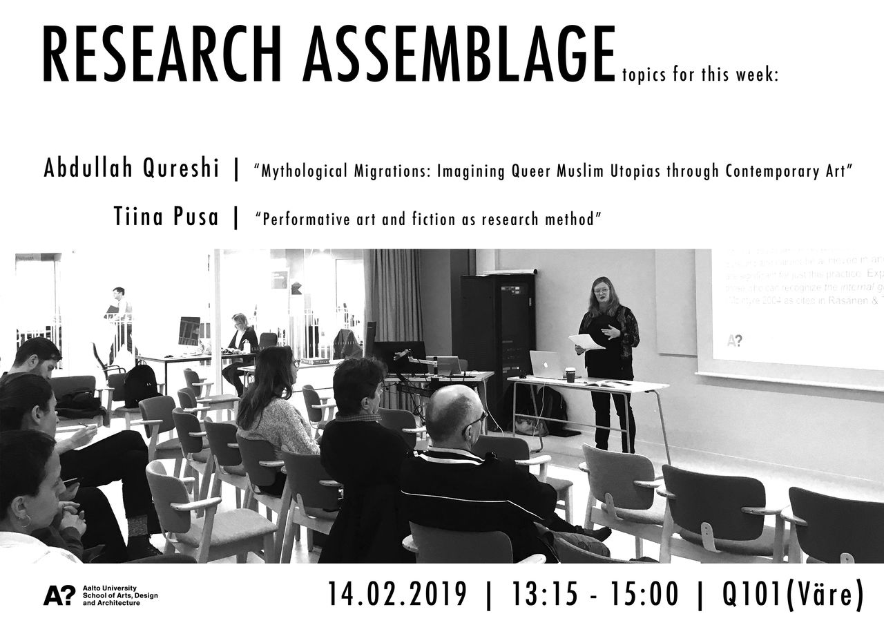 Department of Art Research Assemblage