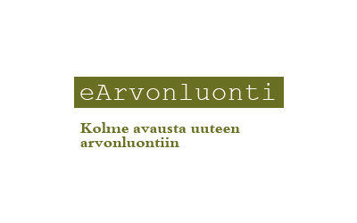 Center for Knowledge and Innovation Research / eArvonluonti logo