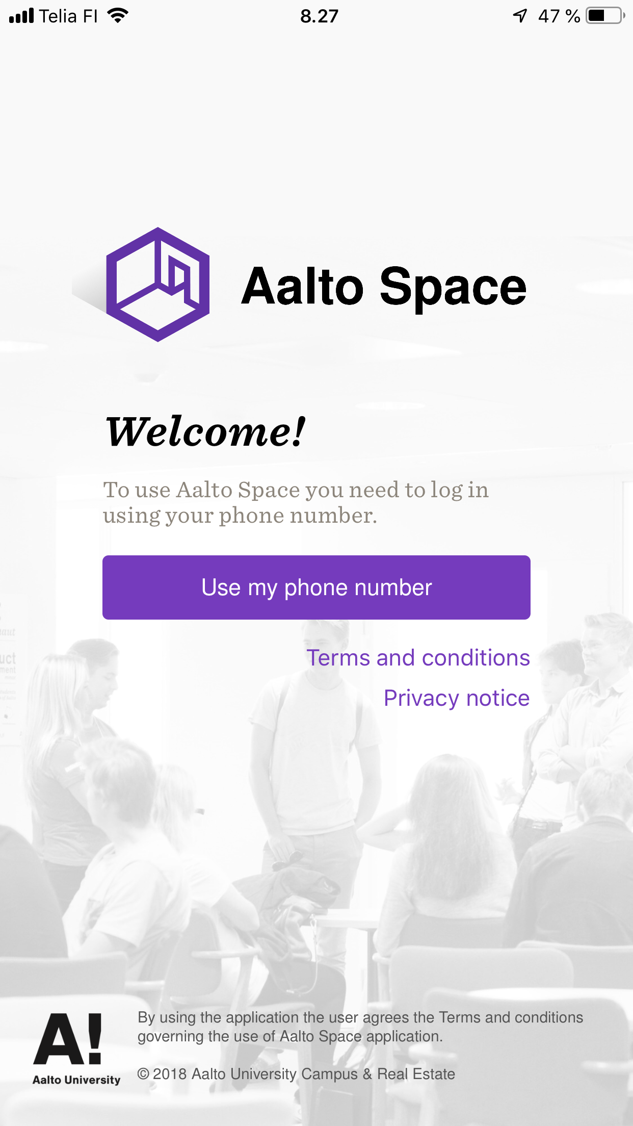 Aalto Space screenshot Kuva: Hannes Huotari