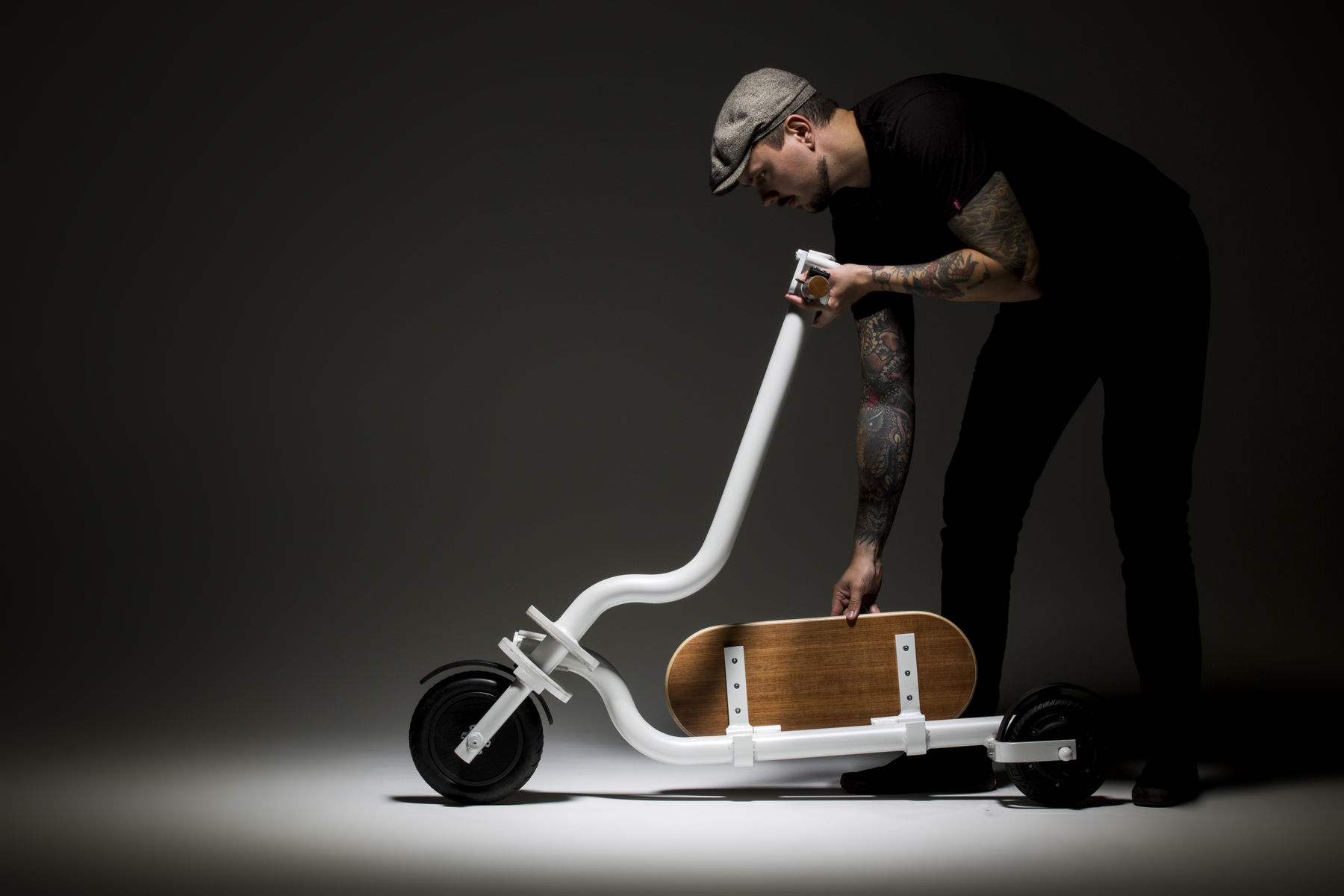 Foldable Flip scoot designed by Jukka Jokinen