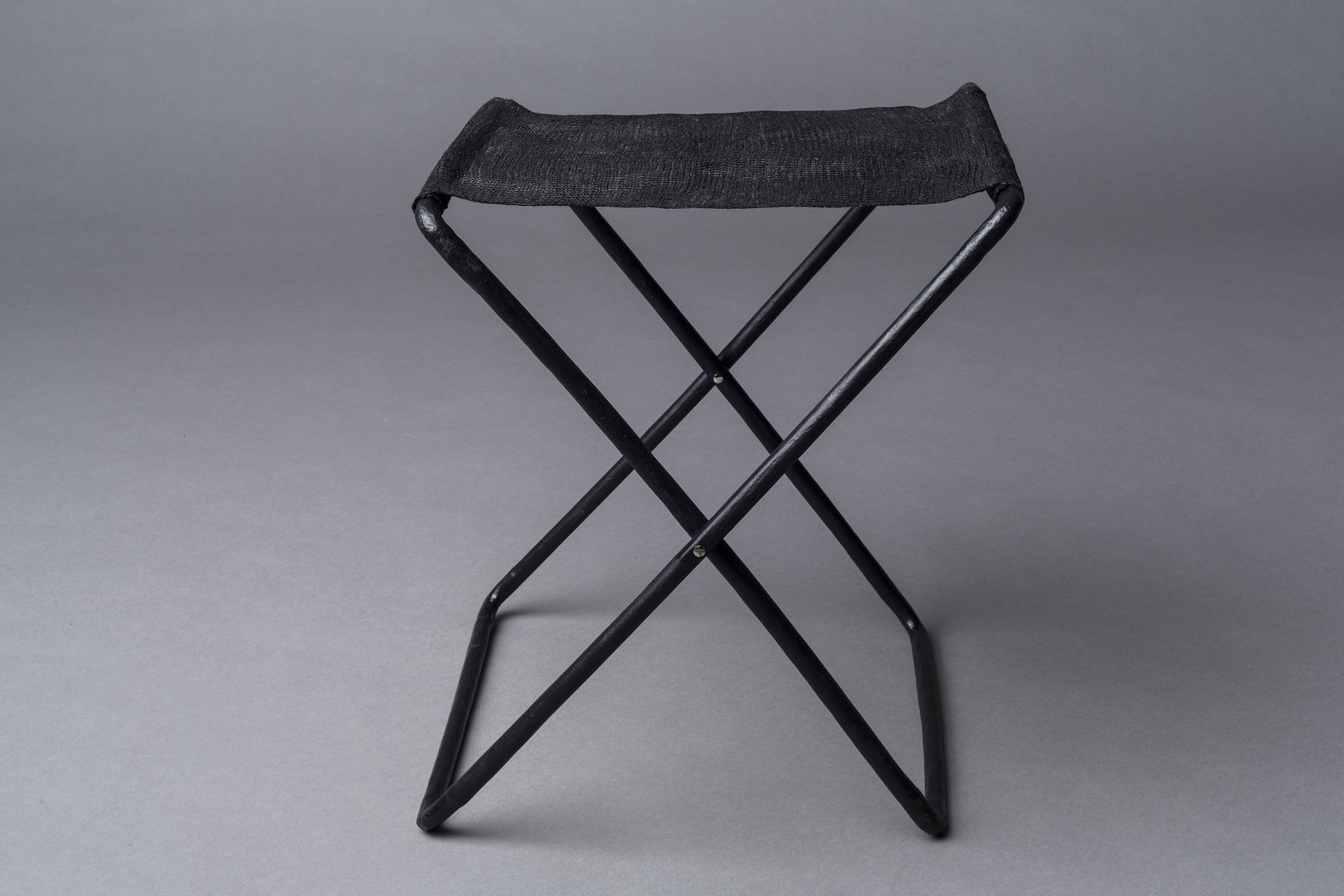 Camping stool made of nanocellulose and Ioncell