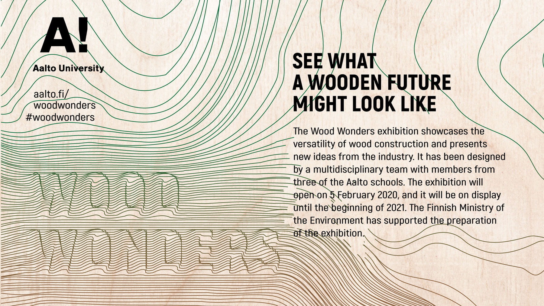 Wood Wonders graphic design: Cvijeta Miljak