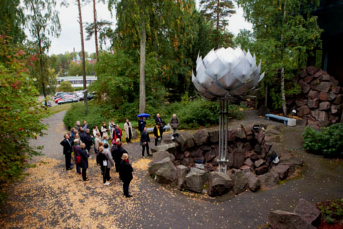 Aalto University / Creative walk / Photographer Mikko Raskinen