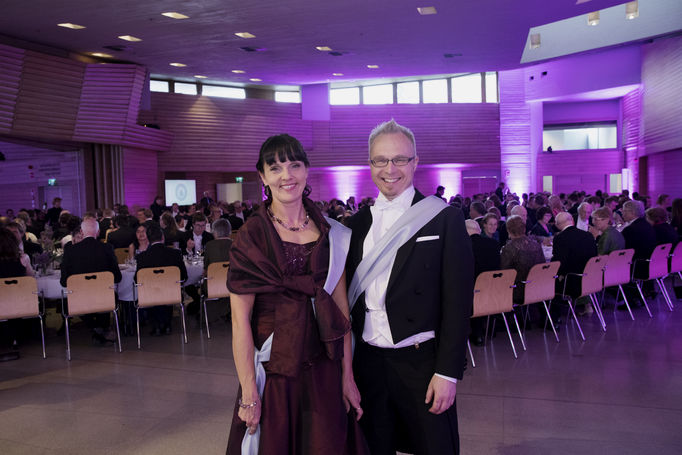 Masters of Ceremony, Heidi Salonen and Jarkko Niiranen