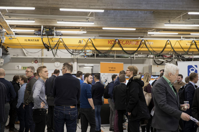 DigiTwin Demo Day, photo by Anna-Mari Tolonen, Aalto University