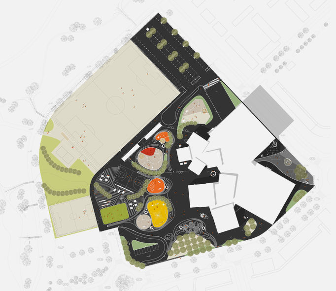 blueprint of park