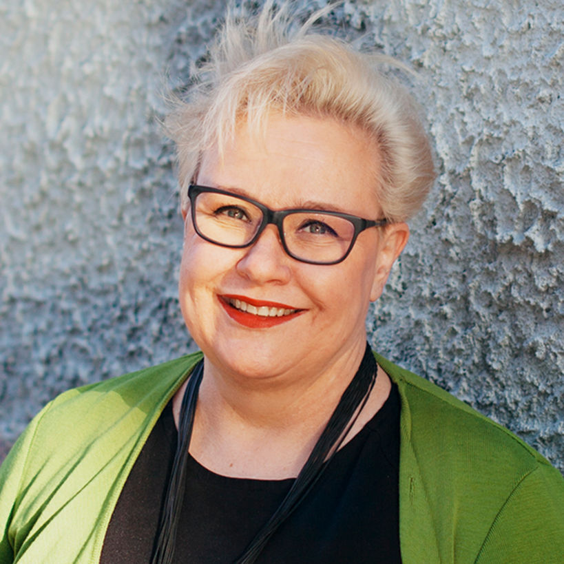 Sirpa Pietikäinen, photo: Vilja Pursiainen