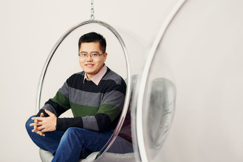 Portrait of Master's student in Engineering Yiwei Liu