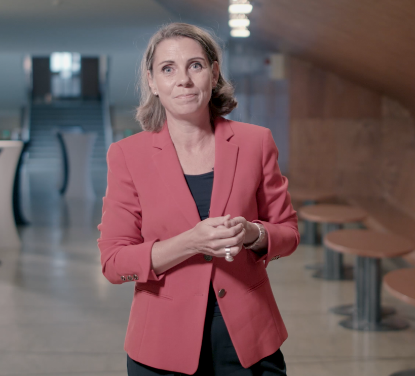 School of Business alumna of the year 2018 Elina Björklund