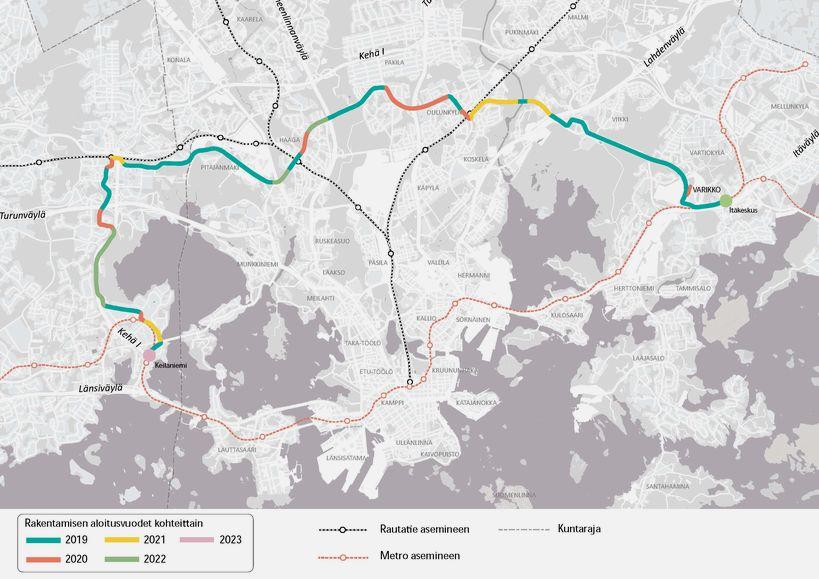 Construction Of Jokeri Light Rail Will Start 3 June At Maarintie