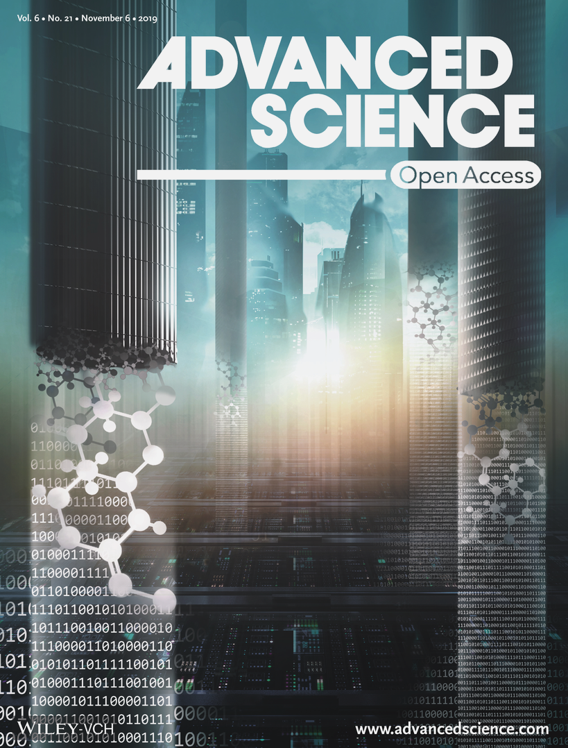 Cover image of Advance Science journal