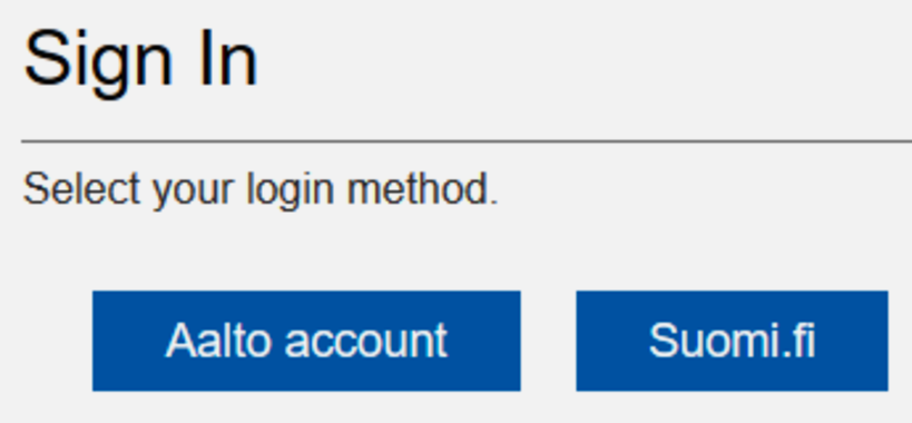 idm-login with Aalto account