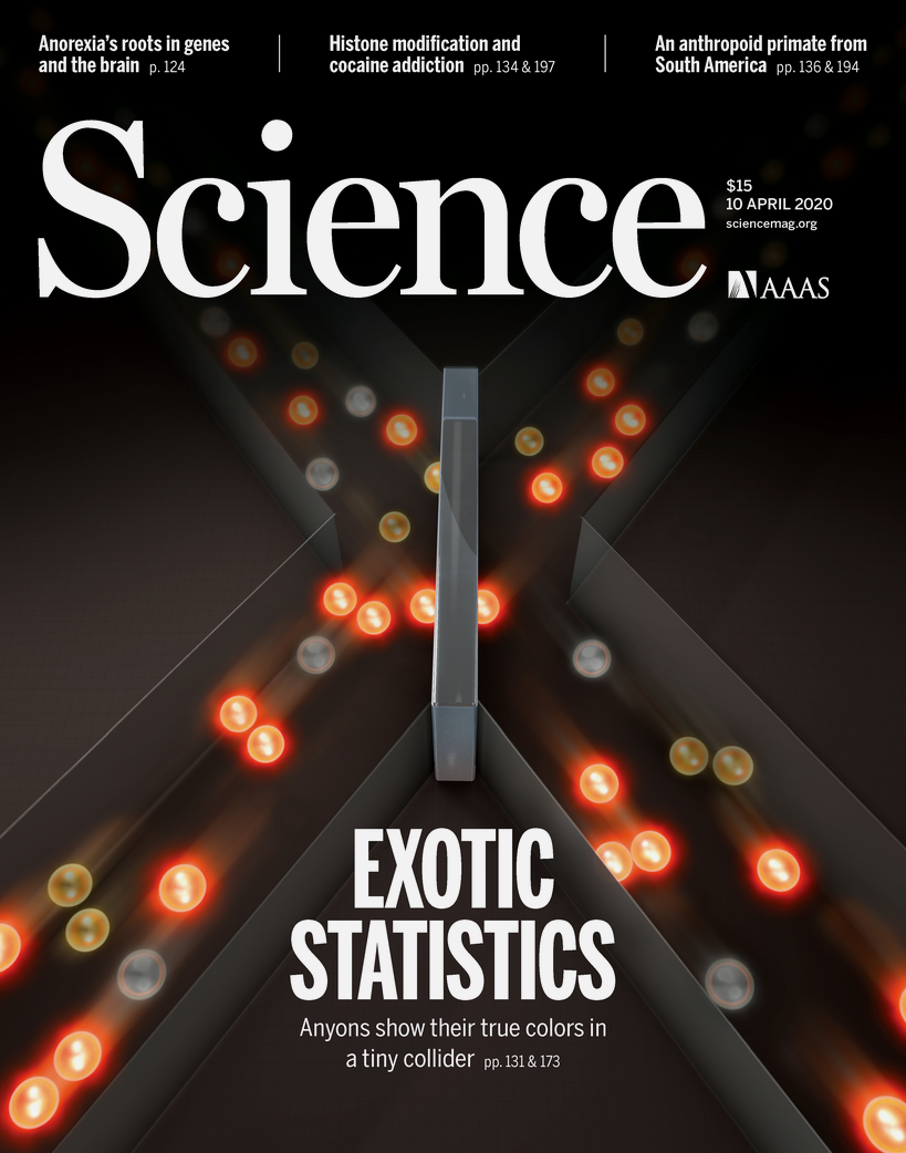 Cover image of science magazine