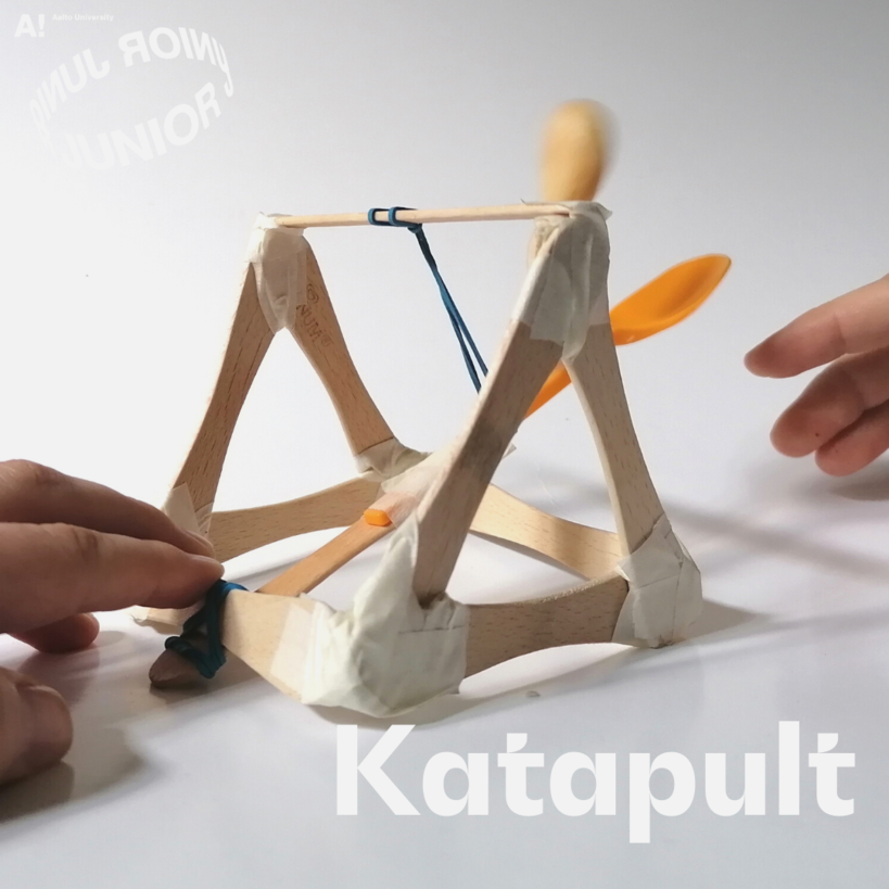 Aalto Junior online instructions for a Catapult