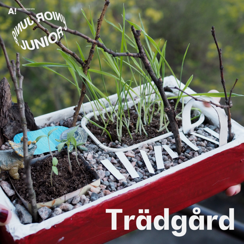 Aalto Junior online instructions for gardening and landscaping